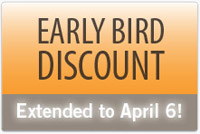 Early Bird Ends Tomorrow!