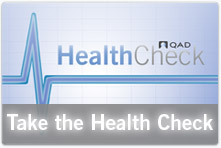 QAD Health Check