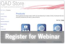 QAD Store Webinar