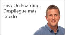 Easy On Boarding: Implementación más rápida