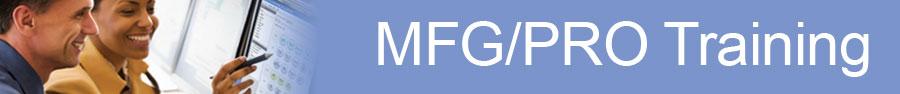 Mfgpro Training