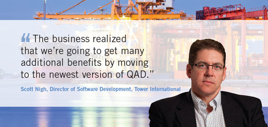 QAD Software Upgrade