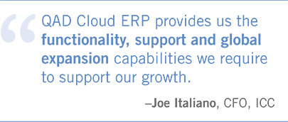 QAD Cloud ERP supports global manufacturers