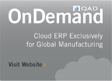 QAD On Demand ERP