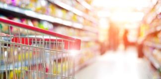 CPG, shopping, shopping cart, aisle