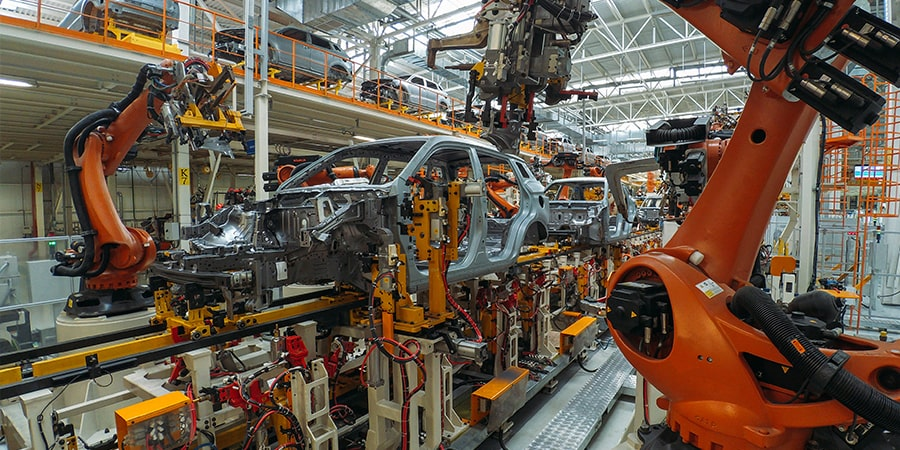 automotive erp, industry 4.0, supply chain, business intelligence