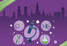QAD Explore, life sciences, explore 2019, New Orleans, beaker, microscope