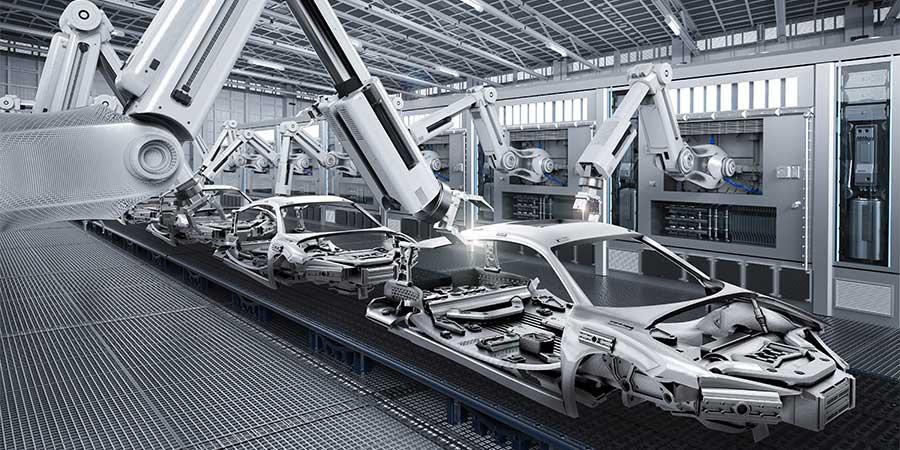 automotive, assembly line, robotics, mmogle, mmog/le, version 5