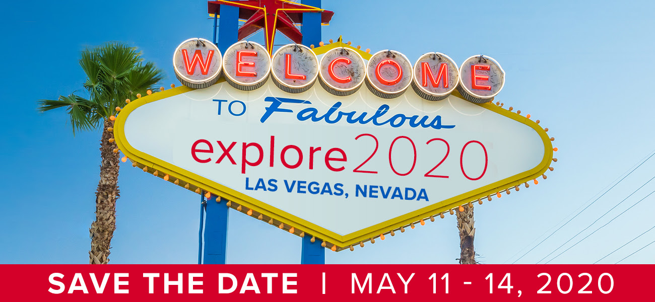Explore, Explore 2020, Save the Date, 2020