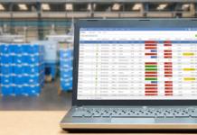 computer, laptop, warehouse, supplier portal