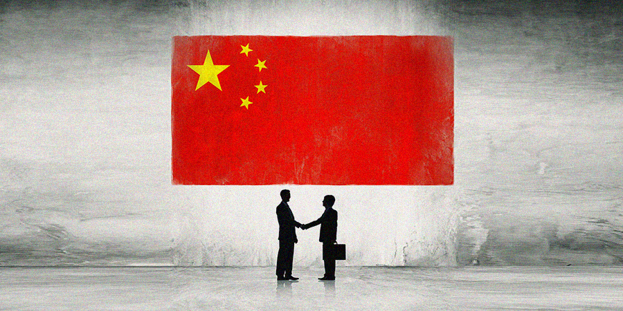 china, chinese flag, business