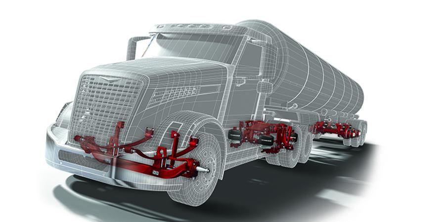 truck, automotive, automation, automation solutions, hendrickson