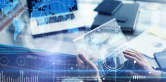 digital transformation, computer, digital, hands