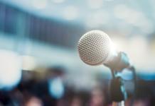 QAD Explore, Explore, Speaker, call for speakers, microphone