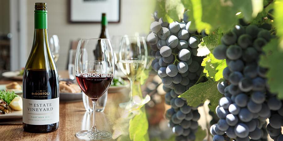 grape to glass, wine, de bortoli wines, de bortoli, customer success, grapes, glasses