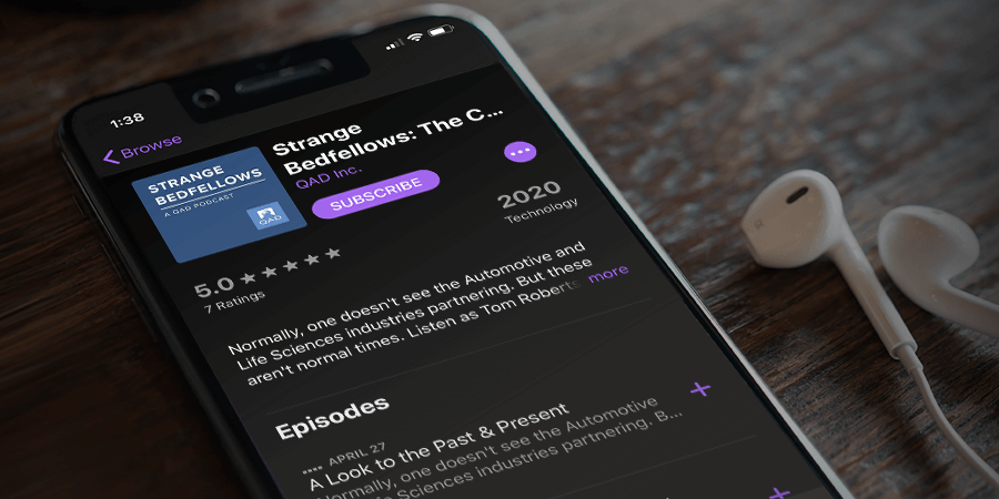 QAD Podcast, strange bedfellows, podcast, education, COVID-19