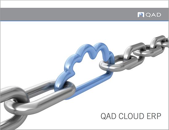 Cloud Enterprise Resource Planning Software Qad Erp