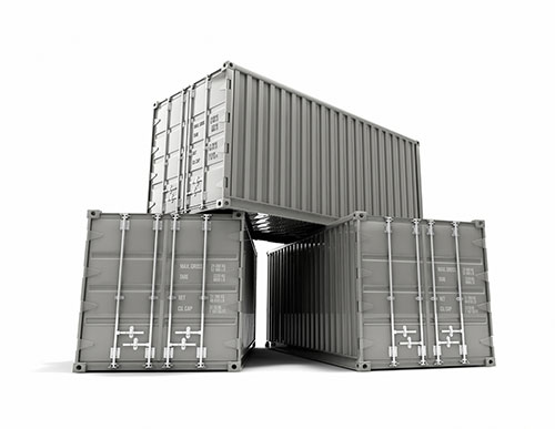 industrial shipping containers